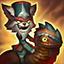 Pasyw–Skaarl, Tchórzliwa Jaszczurka