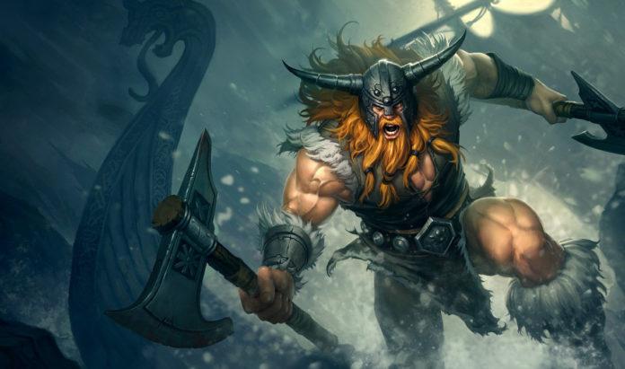 Olaf, Berserker