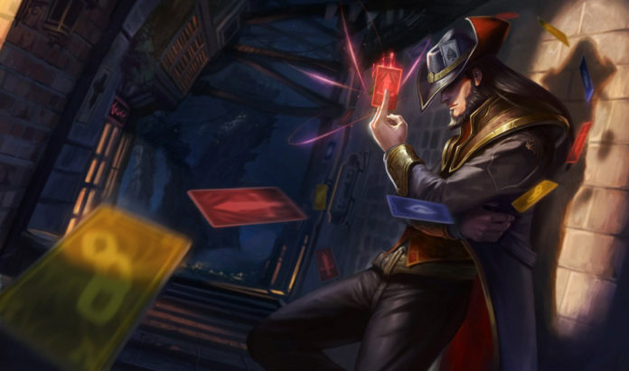 Twisted Fate, Mistrz Kart